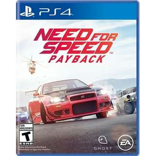 PS4 Need for Speed Payback