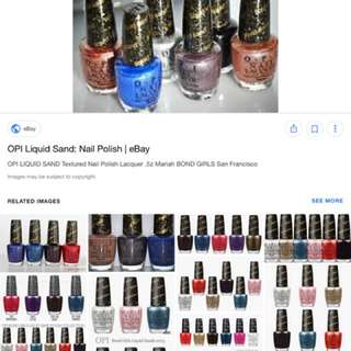 WTB Any Colour OPI LIQUID SAND
