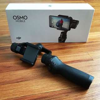 Osmo Mobile + Additional 1 Battery + Stand
