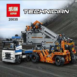 Lego compatible truck (lepin 20035)