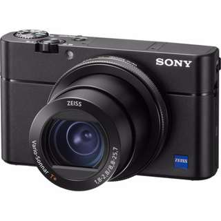 New Sony RX100 V DSC-RX100M5 Digital Camera (FREE 64GB SD Card + LCS-RXF Carry Case)