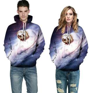3-D couple jacket