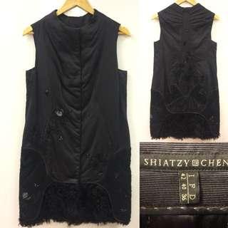 Shiatzy Chen black dress size F 40