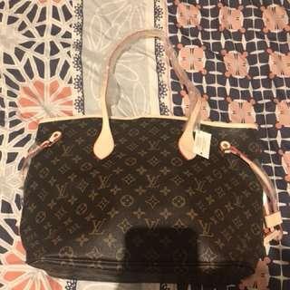 Louis Vuitton neverfull bag tote monogram