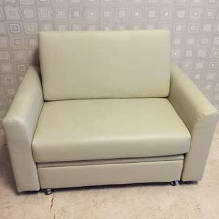 PVC Two Seater Sofa With Storage Box
