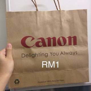 canon paperbag