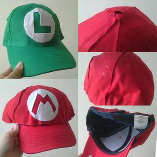 Mario And Luigi [Simple Hat For Cosplay]