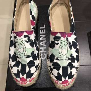 Chanel espadrilles Authentic