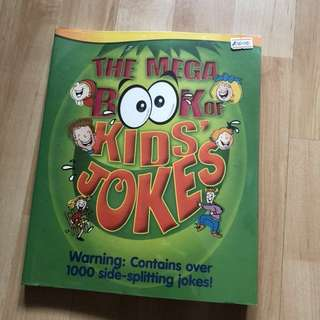 Special Mega Book of Kids' jokes