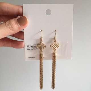 H&M Gold Earrings