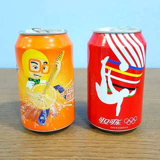 Coca Cola Fanta Can Collection