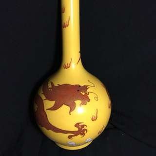 Antique Qing Era vase 36cm high Enquiry /Offer to seller
