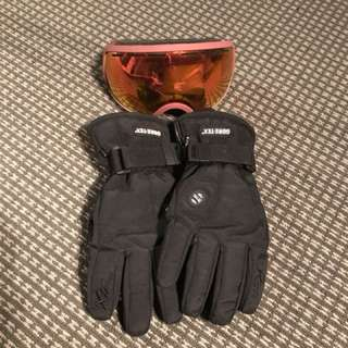 Goggles and gloves