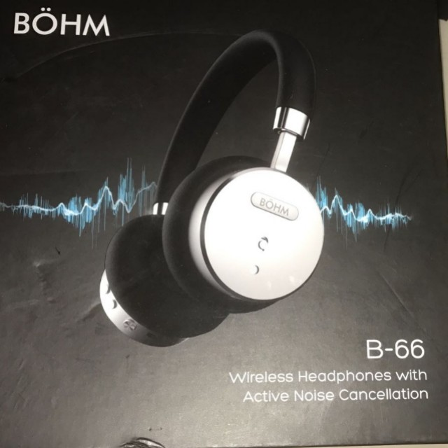 ad15a9e7404 190 BÖHM B66 Bluetooth Wireless Noise Cancelling Headphones with ...