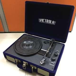 全新!黑膠唱片播放器帶藍芽喇叭
