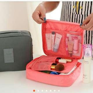 Multi travel organizer make up pouch