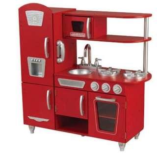 Kidkraft Kitchen Set in Red