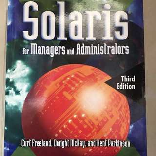 Solaris for managers and administrators