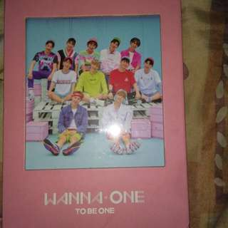 WANNA ONE TO BE ONE ALBUM (PINK VER)