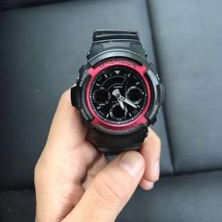 Authentic G-Shock AW-591-4AER