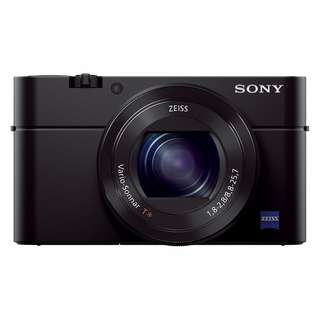 New Sony RX100 III DSC-RX100M3 Digital Camera (FREE Extra battery + 16GB SD Card + Carry Case)