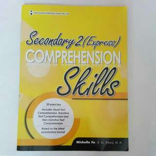 FREE NM📬Brand New Secondary 2 (Express) Comprehension Skills Assessment Book