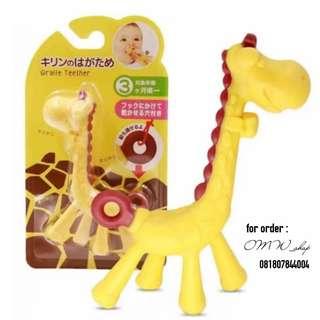 Teether Giraffe / Teether Jerapah / Gigitan Bayi Jerapah