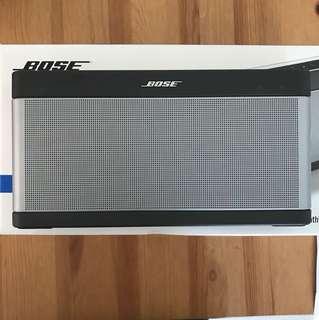 Bose SoundLink III 99% new