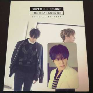 D&E the beat goes on album with donghae pc