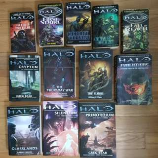 Pre-Loved Halo Books