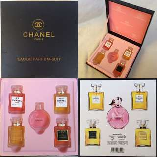Chanel 5 in 1 Miniature Chanel Chance Set Inspired Instocks