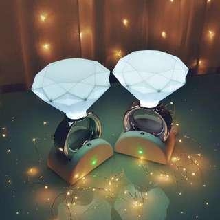 好浪漫💕鑽戒小夜燈💍 仲可錄音🎶🎵Diamond Ring Desk Lamp