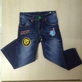 Long jeans for 3yo