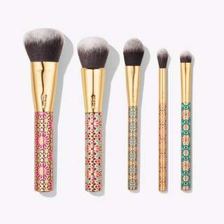 BN authentic tarte limited-edition artful accessories brush set