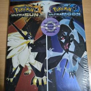 Pokemon ultra sun and moon brand new Guidebook