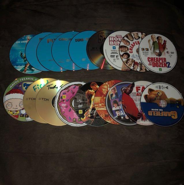 19 movies discs
