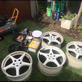 Wheels & compressor bundle