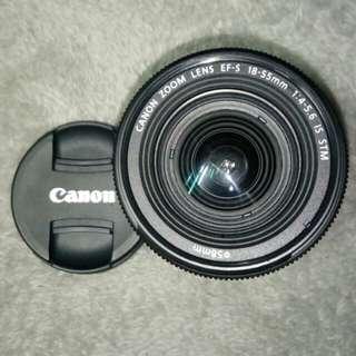 Canon 18-55mm kit lens f/4-5.6  佳能镜头18-55mm,略用,几乎全新