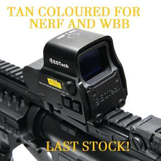 🔺Zombie Stopper Holo Sight Tan Coloured for NERF/ WBB/ Rifle
