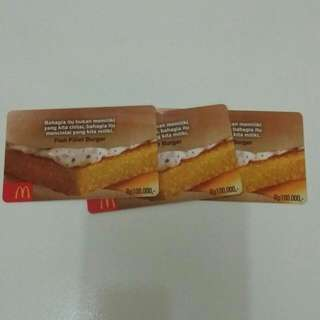 Voucher MC DONALDS