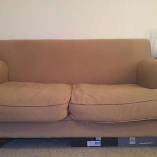 Super comfy two seater couch