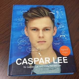 caspar lee exclusive signed book