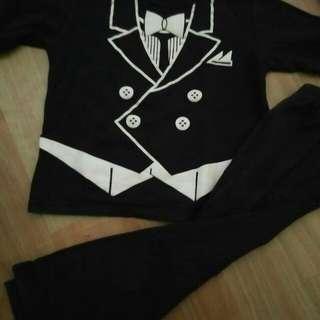 Preloved Boy Suit 3-4thn