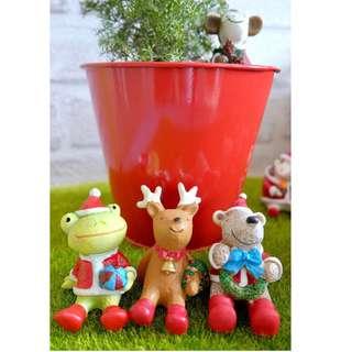 Christmas Animal Figurines