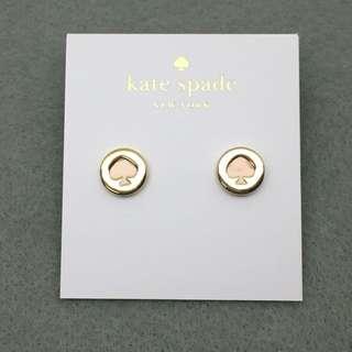 Kate Spade New York Sample Earrings 粉紅金色耳環