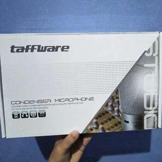 Taffware Condenser Microphone BM800 (Mikrofon Kondenser Studio dengan Shock Proof Mount)