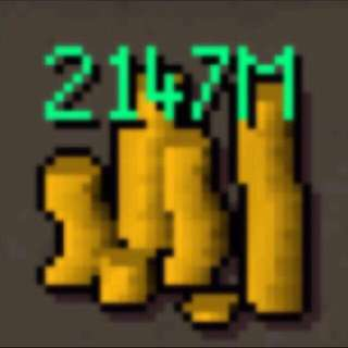 Selling OSRS gold $1.30m