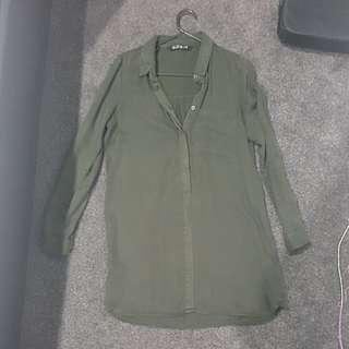 Khaki tunic