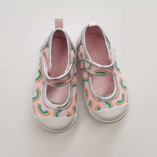 Seed Rainbow Canvas Shoes