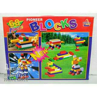 68pcs Pioneer Block / Building Block